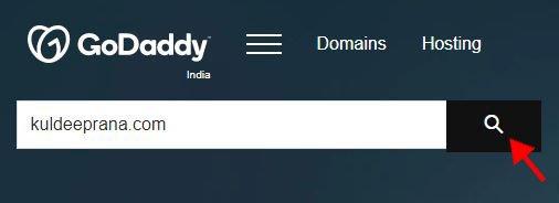 Godaddy domain 2