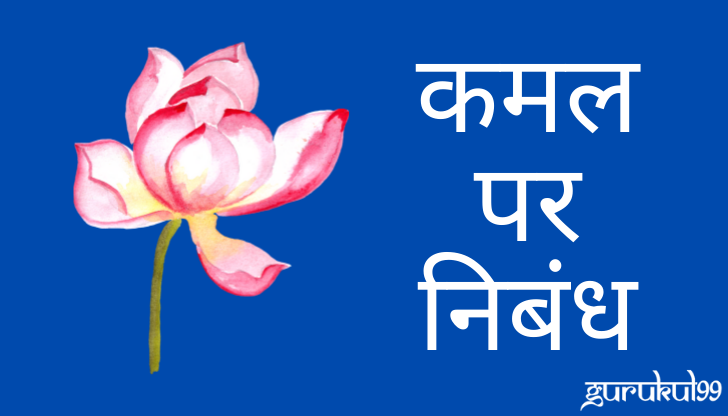 about lotus in hindi