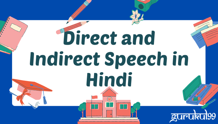 Direct and Indirect Speech in Hindi